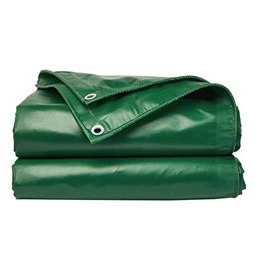 Lona Impermeable Resistente Resistente Engrosada Tela Impermeable Impermeable Y Antienvejecimiento Fábrica Al Aire Libre, Tela De Oxford, 9 Tamaños Green 5.8X4.8m