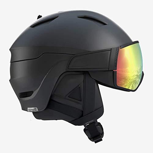 SALOMON Helmet Driver+ Photo Bk/All Weathe schwarz - M 5659