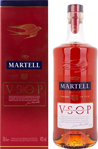 Martell V.S.O.P. Aged in Red Barrels Cognac, 0.7 l
