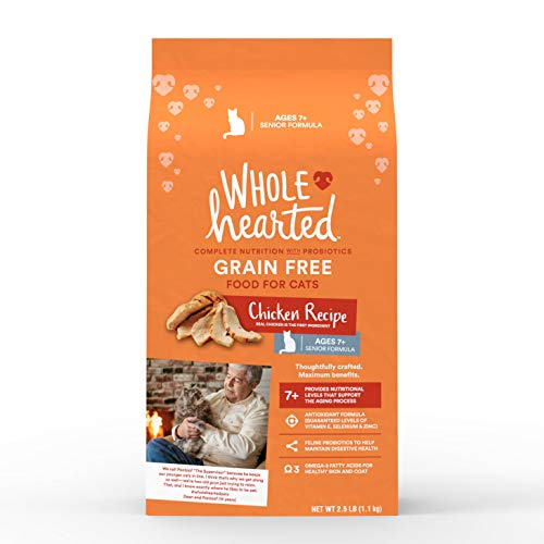 WholeHearted Grain Free Flaked Chicken Wet Cat Food