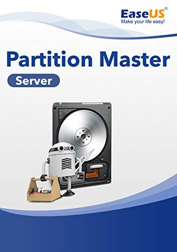 EaseUS Partition Master Server WIN (Product Keycard ohne Datenträger)-aktuelle Version