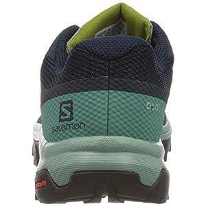 Salomon Women's OUTline GTX W Hiking Shoes, Trellis/Navy Blazer/Guacamole, 7.5