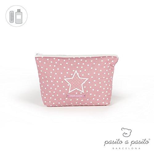 Pasito A Pasito - Neceser vintage rosa (vt)