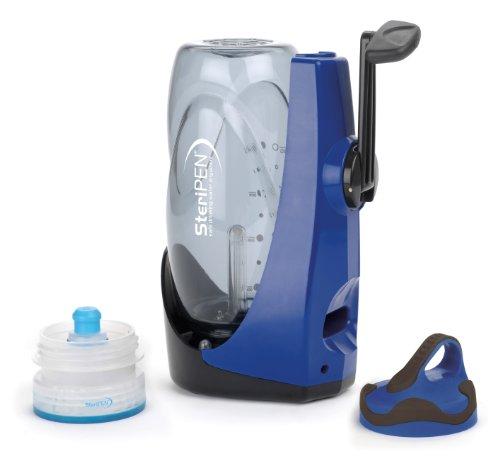 Steripen Sidewinder - Purificador de Agua Manual portátil por luz Ultravioleta (Recargable)