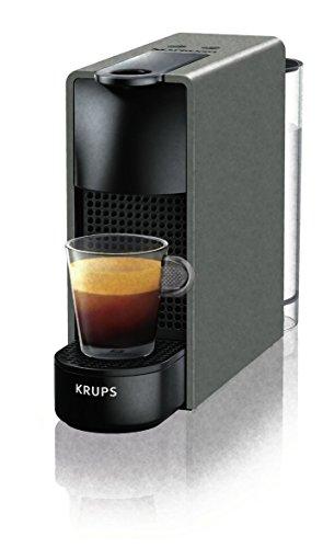 Macchina per Caffè Krups XN110BK - ESSENZA Macchina per espresso per Capsule caffè capacità della tanica 0,6 L di colore Grigio