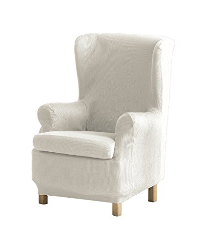 Eysa Ulises elastisch Sofa überwurf ohrensessel, Polyester-Baumwolle, 00-Ecru, 37 x 5 x 29 cm