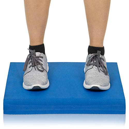 Vive Balance Pad - Foam Large Yoga Mat Trainer for Physical Therapy,...