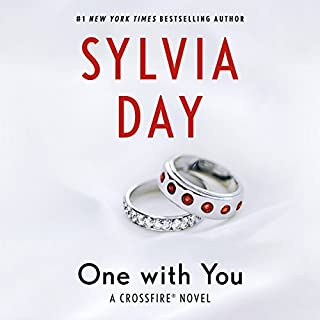 One with You     Crossfire Series, Book 5              Written by:                                                                                                                                 Sylvia Day                               Narrated by:                                                                                                                                 Jill Redfield,                                                                                        Jeremy York                      Length: 14 hrs and 31 mins     20 ratings     Overall 4.6