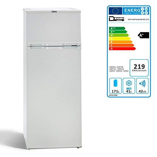 DEMA Kühlschrank Gefrierkombination 217 Liter/A+