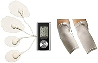 HealthmateForever Electroestimulacion 6 modos electroterapia Smart dolor alivio dispositivo plata