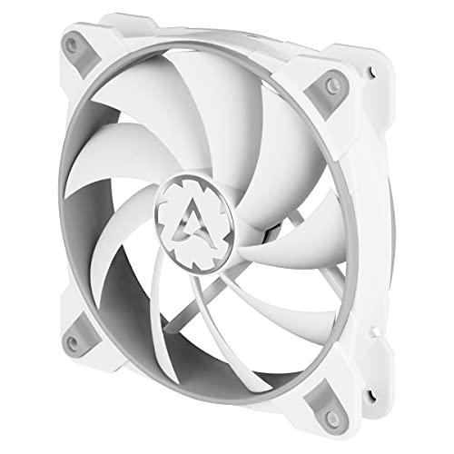 ARCTIC BioniX F120 - 120 mm Gaming Gehäuse-Lüfter mit PWM PST, Case Fan mit PST-Anschluss (PWM Sharing Technology), Reguliert RPM synchron, 200-1800 U/min. - Grau/weiß