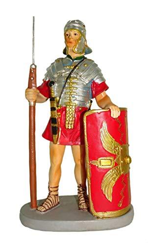 Statuine presepe: Soldato con scudo linea Martino Landi per presepio da cm 10