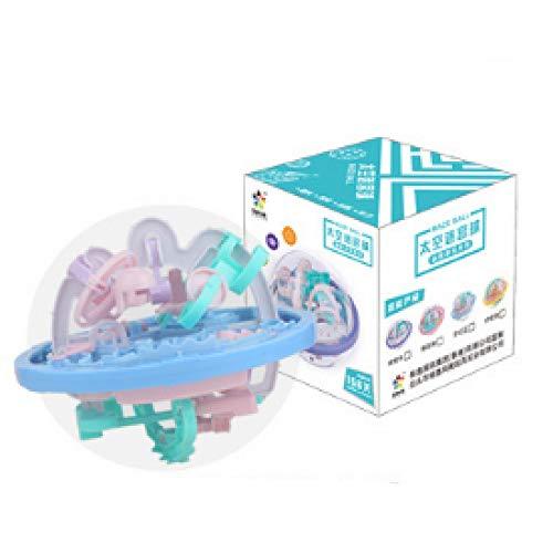Juguete de laberinto, mini laberinto 3D, juguete educativo, cubo de Rubik, mejorar el equilibrio, aumentar la sensación de espacio en 3D, descomprimir, regalo