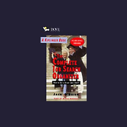 Kiplinger's The Complete Job Search Organizer audiobook cover art