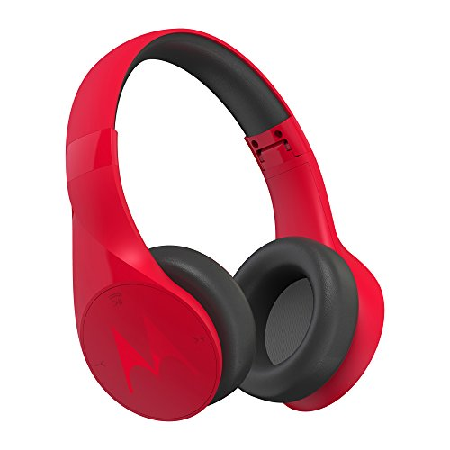 Motorola Pulse Escape Wireless Over-Ear Headphones (Red)