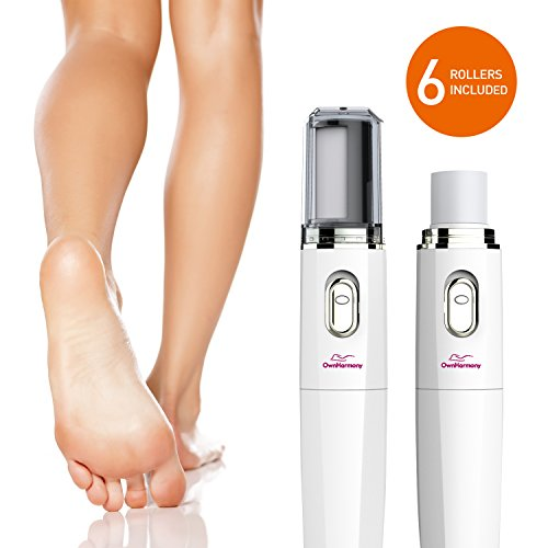 Electric Nail File Kit & Callus Remover (4 in 1) Best Pedicure Tools to Polish Nails - Perfect...