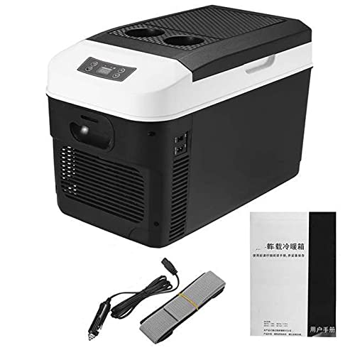 MCYAW Mini refrigerador automático del Coche de 20L Frigorífico DC12 / 24V Congelador El Calentador del refrigerador Mantenga cálido Fresco para el automóvil (Color Name : EU Plug)