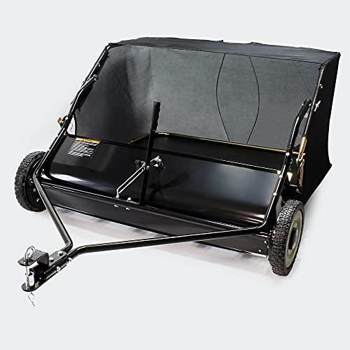 Wiltec Spazzolatrice per trattorino Larghezza 120 cm 266 x 60,3 mm Spazzatrice trainata