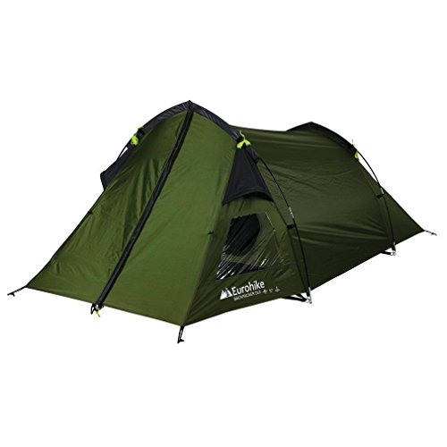 Eurohike Backpacker DLX 2 Man Tent Green One Size