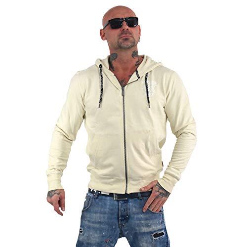 Yakuza Herren Basic Line 4W Zip Hoodie Kapuzenjacke