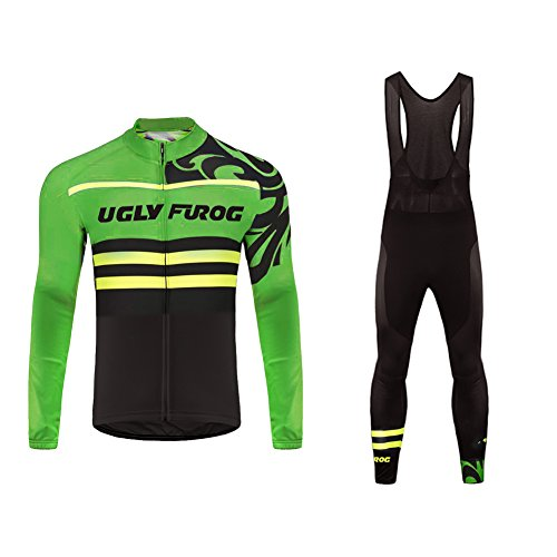 Uglyfrog 2018 Neue Frühling Jersey Thermisches Herren Fahrradbekleidung Gemütlich Trikot Langarm Radfahren Jersey Lange Hülsen Fahrradtrikot