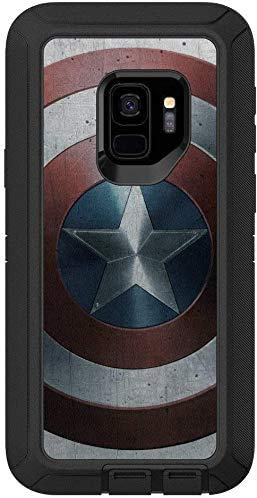 OtterBox Defender Series Case for Samsung Galaxy S9 - Case Only - Bulk Packaging - (Black/Captain America Graphic)