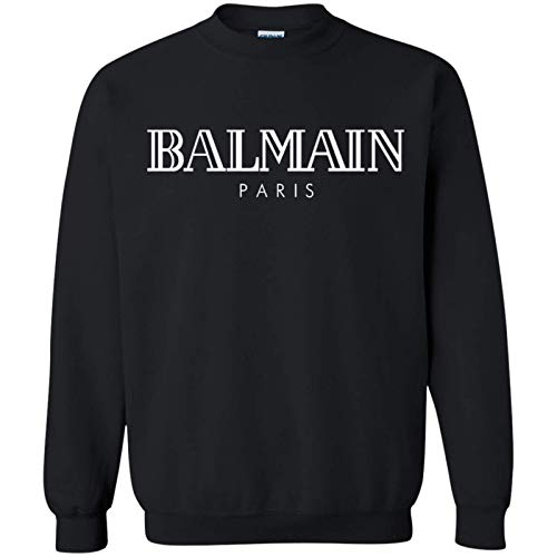 Agr B.Almain Paris by L.ukman C.rewneck Pullover Sweatshirt Unisex, for Holiday, for Halloween, for Christmas, for New Year, for Thanksgiving - Front Print T Shirt for Men and Women