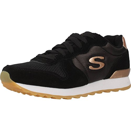 Skechers Retros OG 85 Goldn Gurl zwart sneakers dames