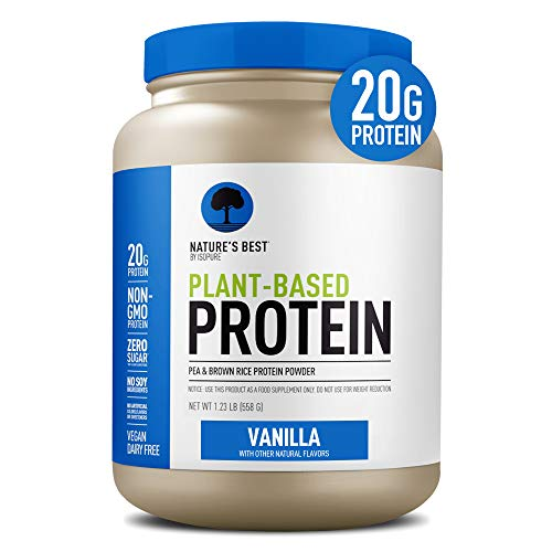 Nature's Best Plant Based Vegan Protein Powder