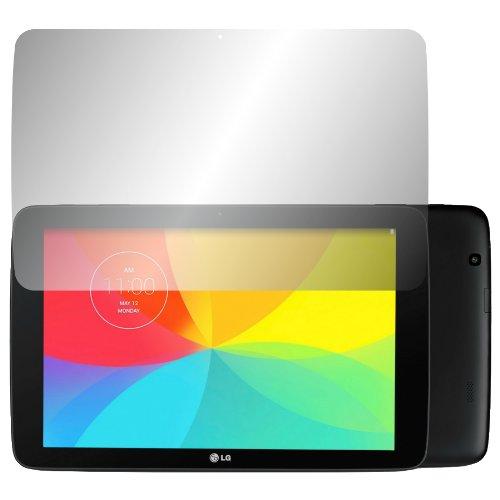 Slabo 2 x Bildschirmschutzfolie LG G Pad 10.1 Bildschirmschutz Schutzfolie Folie Crystal Clear unsichtbar MADE IN GERMANY