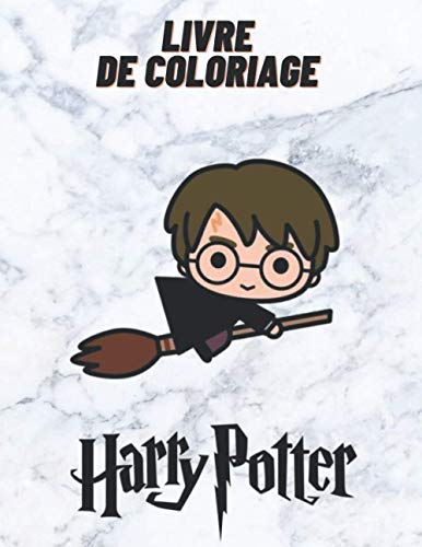 Livre de coloriage Harry Potter: Plus de 40 de vos personnages préférés - Coloriage Anti-stress pour enfant de 4 ans et plus, 100 Créatures magiques