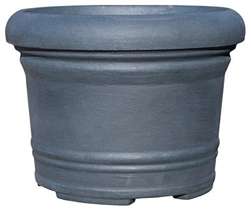 Pflanzkübel PALERMO aus Kunststoff, Farbe:anthrazit;Durchmesser:60 cm