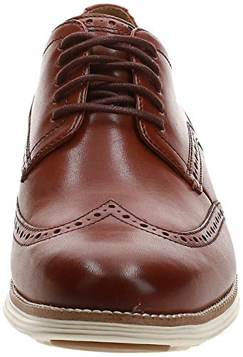 Cole Haan Men's Original Grand Shortwing, Woodbury Leather/Ivory, 9.5 Medium US