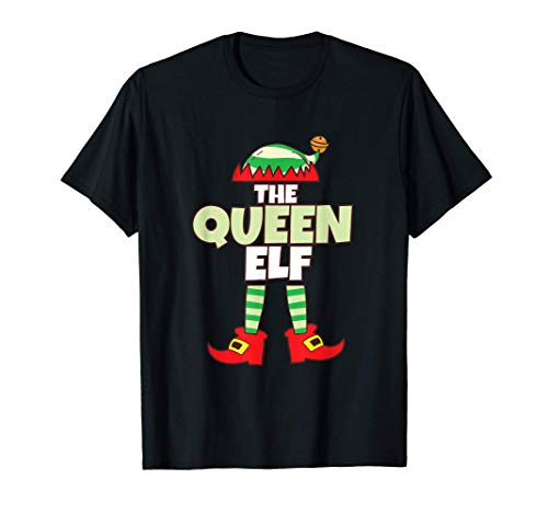 Reina de los Elfos I Navidad Elfos I Navidad Camiseta