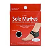 Sole Mates - Cracked Heel Healers!! You can Begin Healing Painful Cracks and Rough, Dry Heels Instantly! Don't Mess with lotions and Pedicures- heal Your Cracked Skin Naturally from The Inside Out! S-M Size