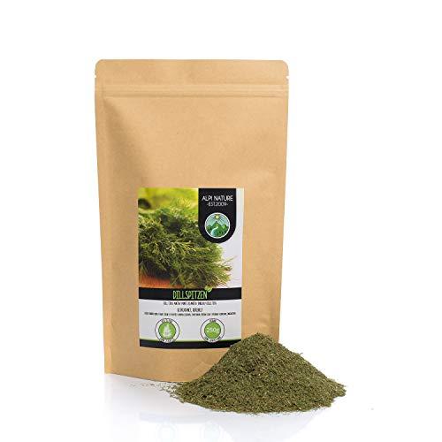 Pointes daneth frottées (250g), pointes daneth séchées doucement, aneth 100% pure et naturelle pour la préparation de mélanges dépices