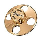 Nobsound - Estabilizador de metal para tocadiscos, peso para discos, sujeción, alta fidelidad dorado