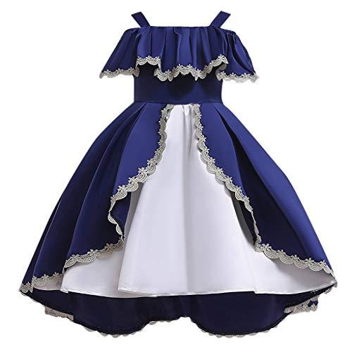 Vectry Disfraz Muñeco De Nieve Vestidos Niña 5 Años Vestidos para Niñas De 10 Años Vestidos para Niñas Fiesta Disfraz De Halloween Niña Disfraces Online Abrigos Niña Outlet Ropa Vestido Azul