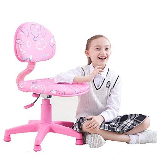 YUMEIGE krukken Kruk voor kind verstelbare hoogte/stoel rug, kinderstoel belasting 200kg,Kruk hoge dichtheid ademende spons, voor 3-18 jaar oud gebruik, voor de meeste tafelhoogtes