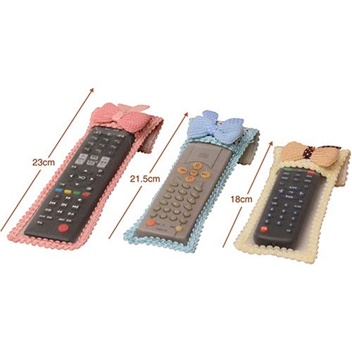 collectsound Cubierta Protectora De Control Remoto, Aire Acondicionado A Prueba De Polvo De Tela Mariposa, Gadget Duradero De Tela SNone