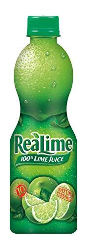 Realime 100% Lime Juice, 15 oz