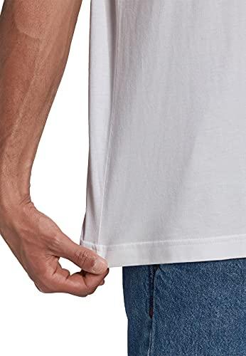 adidas GN3463 Trefoil T-Shirt T-Shirt Mens White/Black M
