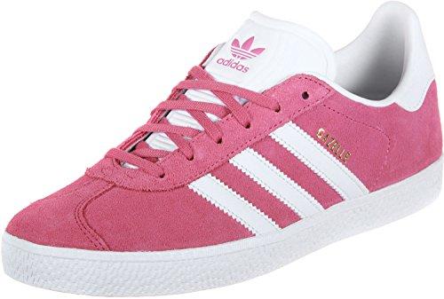 adidas Unisex-Erwachsene Gazelle J Fitnessschuhe, Pink (Rosa 000), 38 2/3 EU