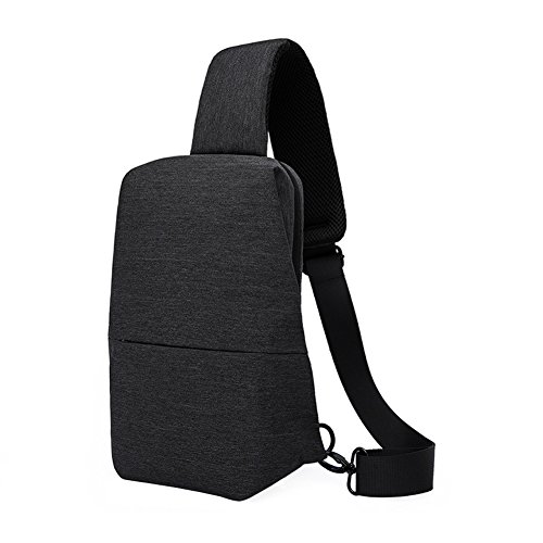VRIKOO Waterproof Oxford Sling Chest Bag Casual Satchel Shoulder Pack for Running/Hiking/Climbing/Travel/Bicycle