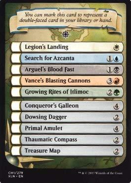 Wizards of the Coast Ixalan Checklist Card - Ixalan