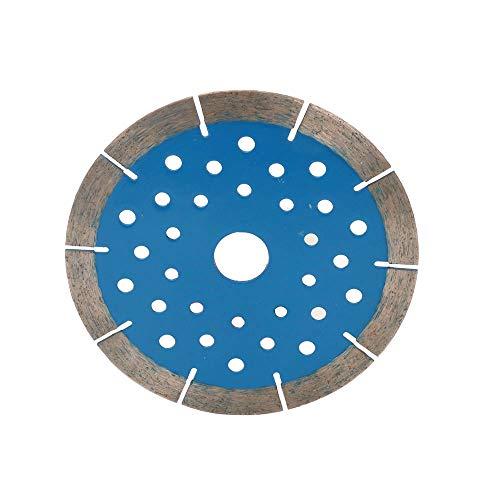 JIUNENG Disco de corte de aleación de metal de aleación de diamante de 130 mm para hormigón, mármol, mampostería, azulejos, ingeniería, herramienta de corte