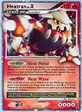 Pokemon - Heatran LV.X – DP31 – Promotional (DP31) - Diamond and Pearl Black Star Promos - Holo