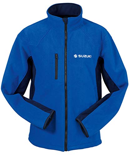Suzuki Team Blau Fleece Jacke (S)