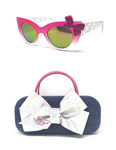 JoJo Siwa Mirrored Sunglasses with Denim Case