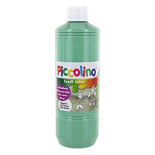 PICCOLINO - Pintura textil (500 ml), color verde